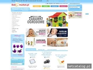 Zrzut ekranu strony www.bobomarket.pl