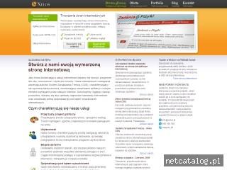 Zrzut ekranu strony www.xelos.pl