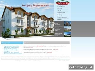Zrzut ekranu strony www.sierzbud.pl