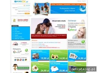 Zrzut ekranu strony www.fotook.pl