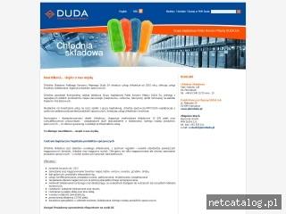 Zrzut ekranu strony www.chlodniapkmduda.pl