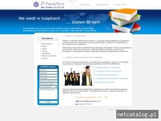 Zrzut ekranu strony www.pisanieprac.com