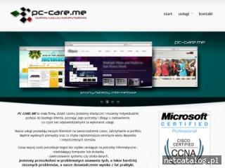 Zrzut ekranu strony pc-care.me