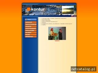 Zrzut ekranu strony www.kontur.zakopane.pl