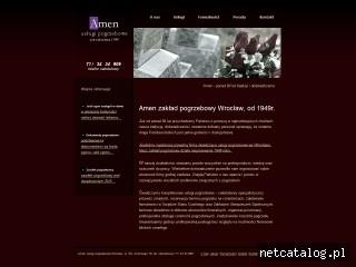 Zrzut ekranu strony amen.wroclaw.pl