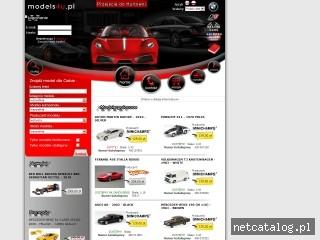 Zrzut ekranu strony www.models4u.pl