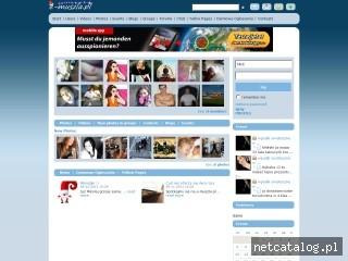 Zrzut ekranu strony www.e-muszla.pl