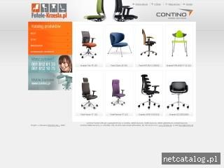 Zrzut ekranu strony www.fotele-krzesla.pl