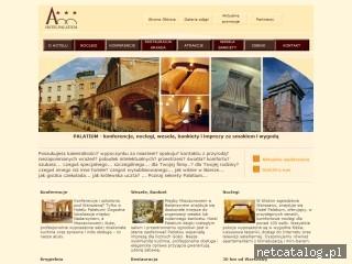 Zrzut ekranu strony www.palatium.pl