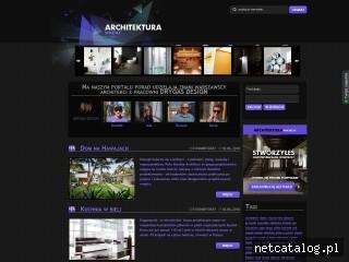 Zrzut ekranu strony www.ArchitekturaWnetrz.pl