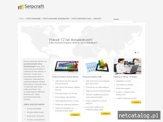 Zrzut ekranu strony serpcraft.pl