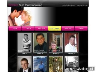 Zrzut ekranu strony www.godiva.info.pl