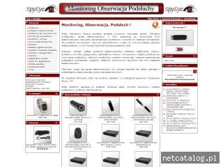 Zrzut ekranu strony www.spyeye.pl
