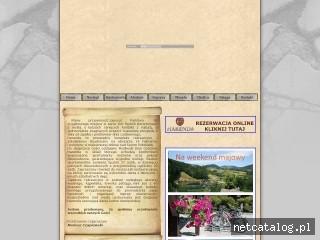 Zrzut ekranu strony www.harenda.biz.pl