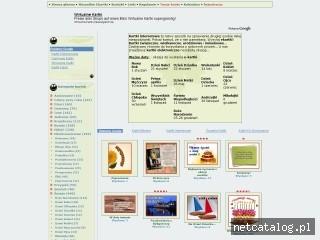 Zrzut ekranu strony e-kartki.net.pl