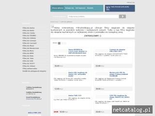 Zrzut ekranu strony filtrydookapu.pl