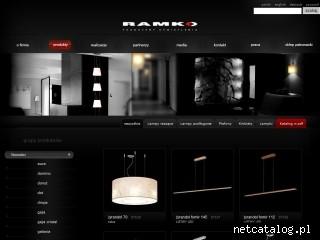 Zrzut ekranu strony www.ramko.pl