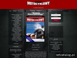 Zrzut ekranu strony www.biznesmotocyklowy.pl
