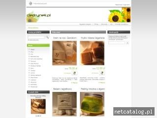 Zrzut ekranu strony www.cedrynek.pl