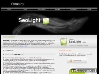 Zrzut ekranu strony www.seolight.pl