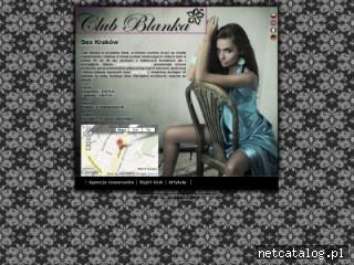 Zrzut ekranu strony clubblanka.pl