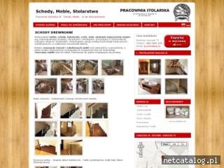Zrzut ekranu strony www.tanie-schody.pl