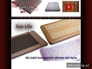 Zrzut ekranu strony www.sun-life.com.pl