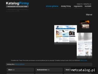 Zrzut ekranu strony www.katalogfirmy.net