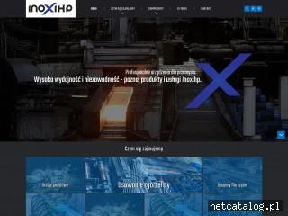 Zrzut ekranu strony www.inoxihp.com.pl