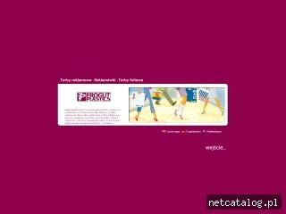 Zrzut ekranu strony www.frogut.pl
