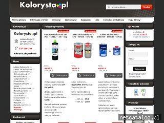Zrzut ekranu strony kolorysta.pl