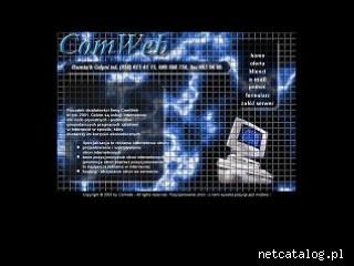 Zrzut ekranu strony www.comweb.com.pl