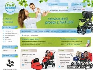 Zrzut ekranu strony ekowozki.pl