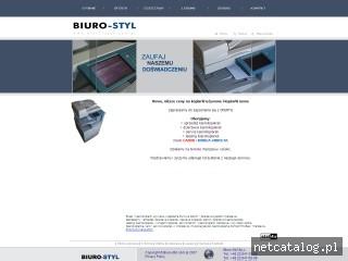 Zrzut ekranu strony www.biuro-styl.com.pl