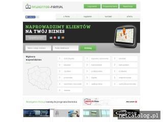 Zrzut ekranu strony nawigator-firm.pl