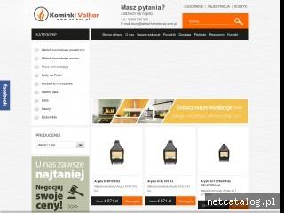 Zrzut ekranu strony wklad-kominkowy.com.pl