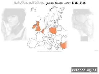 Zrzut ekranu strony tatushow.com