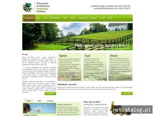 Zrzut ekranu strony www.pak-glowacz.pl