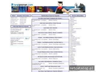 Zrzut ekranu strony www.targipoznan.com