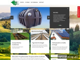 Zrzut ekranu strony bio-eko.com.pl