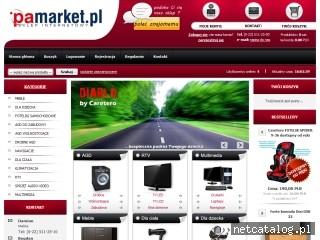 Zrzut ekranu strony www.pamarket.pl