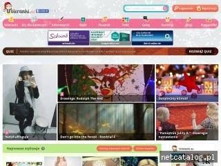 Zrzut ekranu strony www.ubieranki.eu