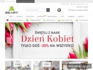 Zrzut ekranu strony seart.pl