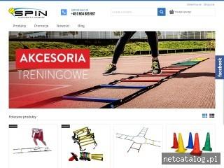Zrzut ekranu strony spin-sport.pl
