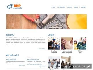 Zrzut ekranu strony szkoleniabhp-bydgoszcz.pl