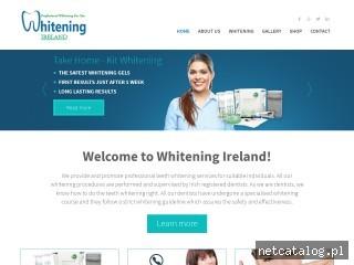 Zrzut ekranu strony whiteningireland.ie
