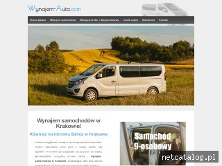 Zrzut ekranu strony wynajem-auta.com