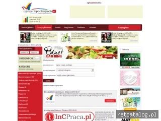 Zrzut ekranu strony ogloszeniapodkarpacie.pl