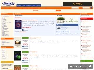 Zrzut ekranu strony www.dobreksiazki.pl