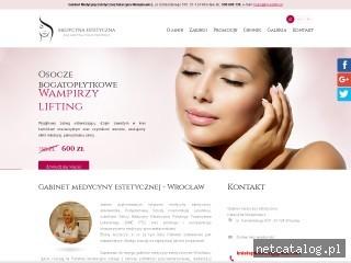 Zrzut ekranu strony www.kn-estetic.pl